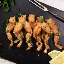 Image de la catégorie Plats de cuisses de grenouilles