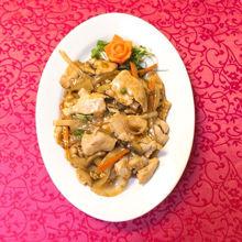 Image de Viande de poulet avec divers légumes