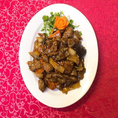 Image de Boeuf aux champignons chinois