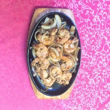 Image de Ti Pan crevettes avec oignons et ail