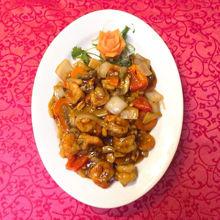 Image de Crevettes à la sauce gon bao