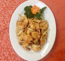 Image de Crevettes aux oignons et à l'ail