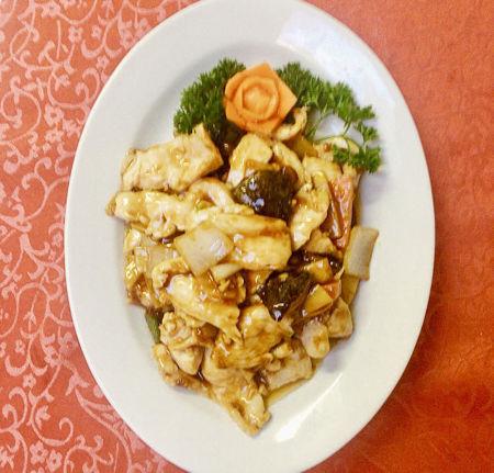 Image de Viande de poulet aux champignons chinois