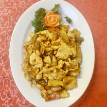 Image de Viande de poulet avec sauce épicée
