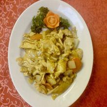 Image de Viande de poulet au curry