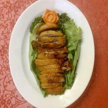 Image de Canard de Pékin aux crêpes et poireaux