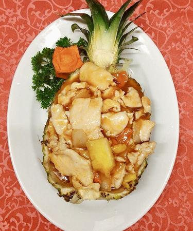 Image de  Viande de poulet ananas frais