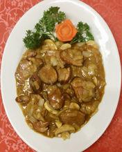 Image de  Canard à la sauce à la crème de curry