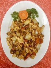 Image de Viande de poulet aux champignons