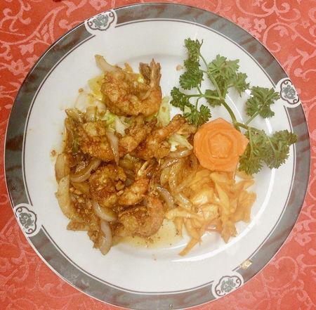 Image de Crevettes à la sauce à l'ail