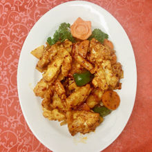 Image de Calmars à la sauce gon bao