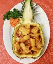 Image de Filet de sole à l'ananas frais