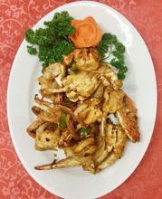 Image de Crabe chinois aux herbes chinoises et sauce épicée